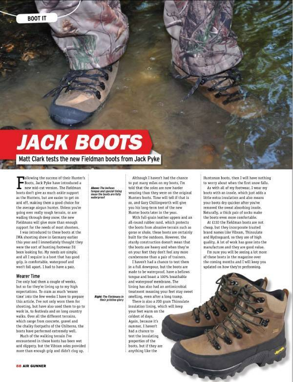 Jack Pyke Fieldman Boot Review