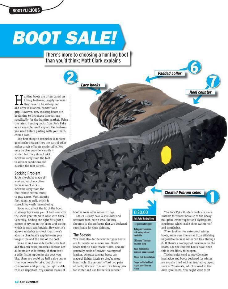 Jack Pyke Review Hunters Boot