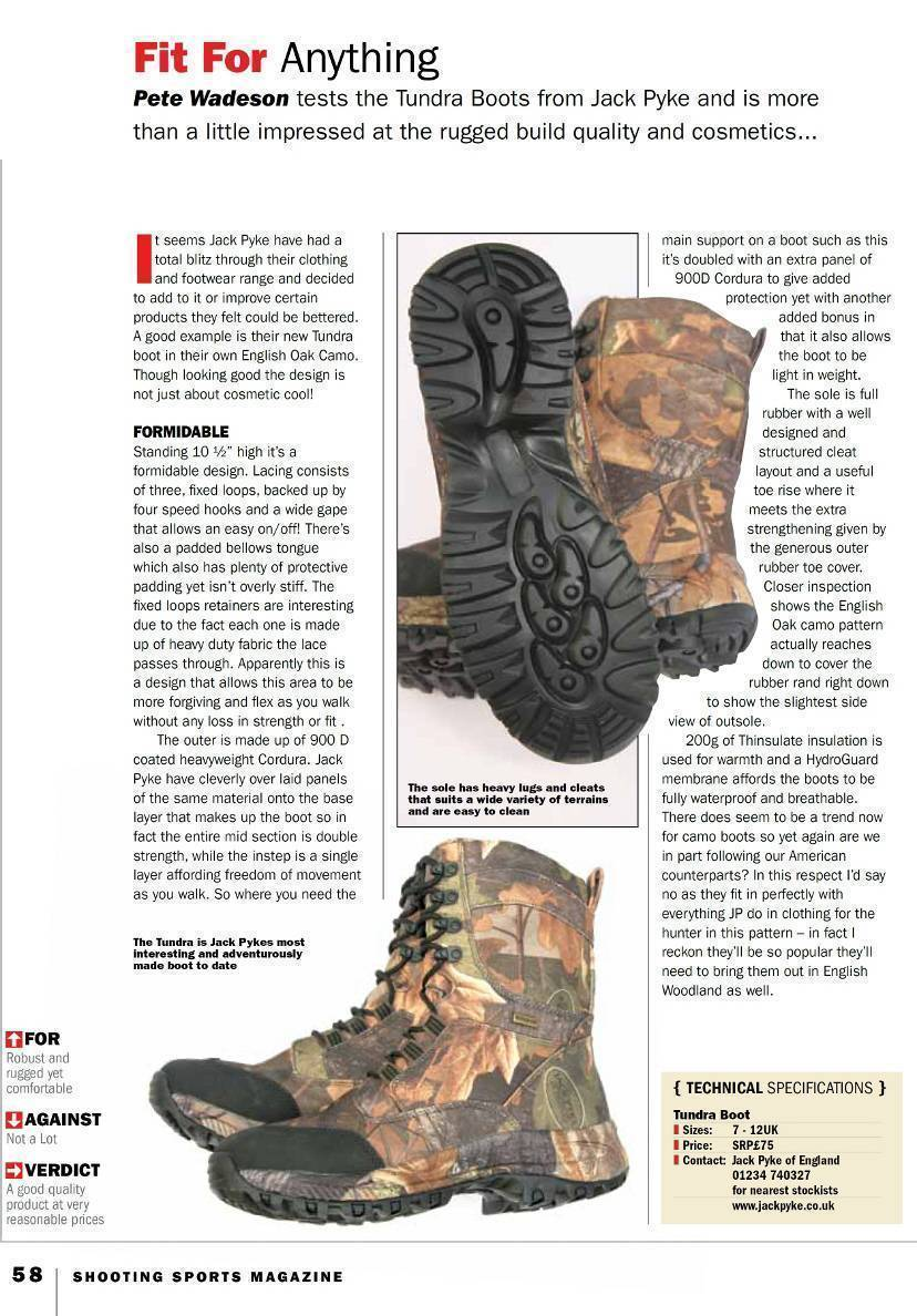 Jack Pyke Tundra Boots Review